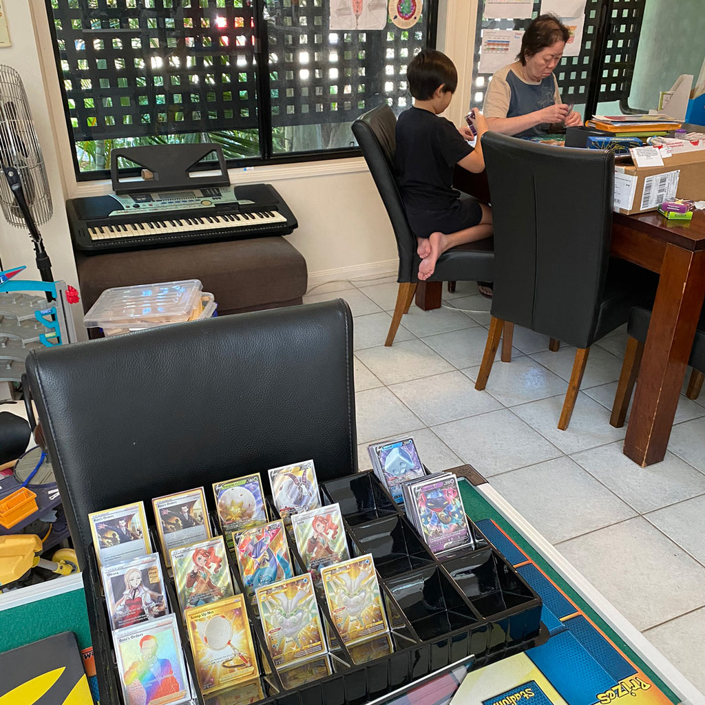 Pokemon business is a family affair