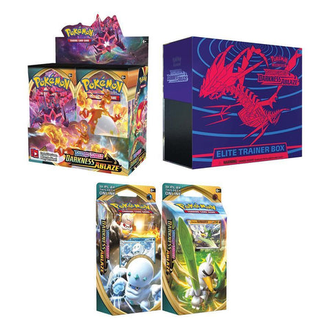 Pokemon TCG Sword & Shield Darkness Ablaze Bundle 2 (PRE-ORDER)