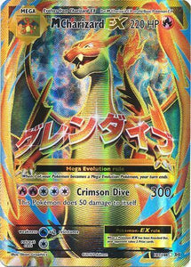 Pokemon Card XY Evolutions 101/108 Mega Charizard EX Full Art Rare Ultra
