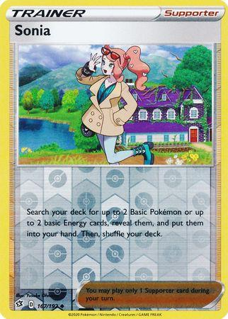 167/192 Sonia Rebel Clash (RCL) Uncomon Reverse Holo