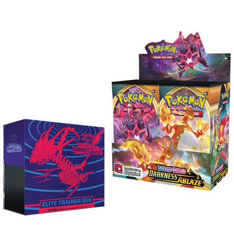 Pokemon TCG Sword & Shield Darkness Ablaze Bundle 1 (PRE-ORDER)