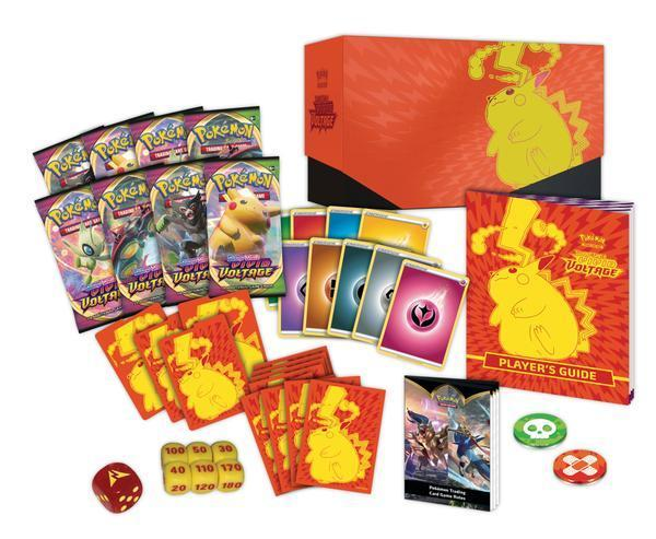 Pokemon TCG Sword & Shield Vivid Voltage Elite Trainer Box - In Stock