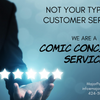 Not your Typical Customer Service- A Comic Concierge Service - Major Payne's Comic Compound