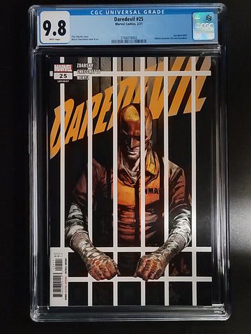 Daredevil #25 CGC 9.8 Marco Checchetto Cover