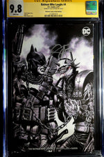 Batman Who Laughs #4 F CGC SS 9.8 Mico Suayan Sketch Variant Signed by Scott Snyder - Major Payne's Comic Compound