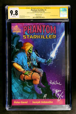 Phantom Starkiller #1 CGC SS 9.8 Browne variant cover Signed by Peter Goral, Joseph Schmalke, and Ryan G. Browne