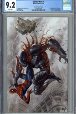 Spider-Man Vol. 3 #1 T CGC 9.2 Parrillo Virgin Edition