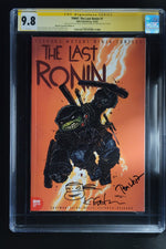 Teenage Mutant Ninja Turtles The Last Ronin #1 CGC SS 9.8 Kevin Eastman 1:10 Cover signed by Waltz Signed & Sketch by Eastman
