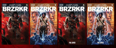 BRZKRK #1 Covers A - D BRZKRK #1 With CGC Grading Options