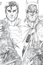 Batman/Superman #1 AA Ryan Kincaid Variant E B&W Variant - Major Payne's Comic Compound