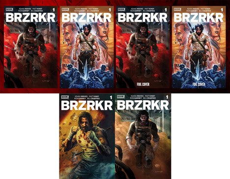BRZKRK #1 Both 1:25s+ 4 Additional Variants and CGC Grading Options