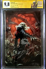 Venom Vol. 4 #6 D CGC SS 9.8 Skan B Cover - Signed by Cates and Stegman
