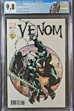 Venom Vol. 3 #6D CGC 9.8 Todd Nauck Trade Cover