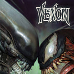 VENOM #32 BROWN MARVEL VS ALIEN VAR KIB