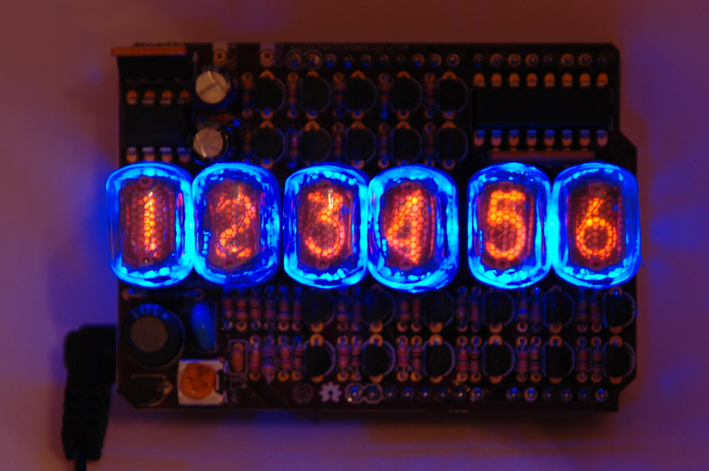 Open Source Nixie Tube Shield