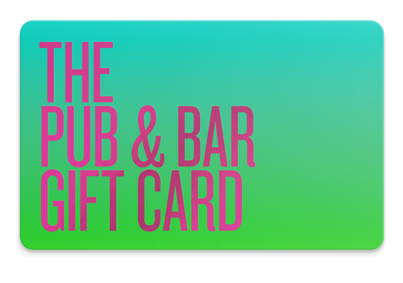 The Pub & Bar Card