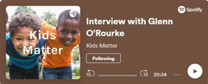 An interview with Glenn O'Rourke