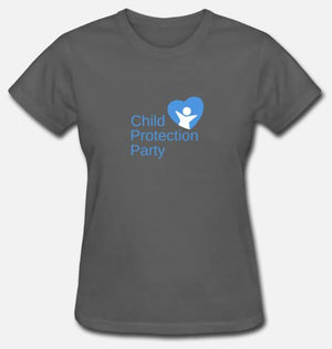 Child Protection Party Woman's T-Shirt (Loose Fit)