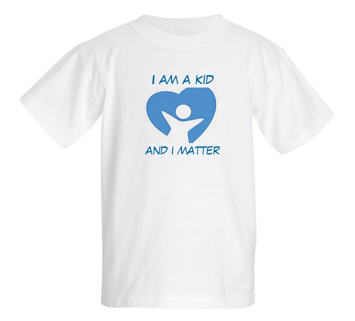 Child Protection Party I am a Kid T-Shirt
