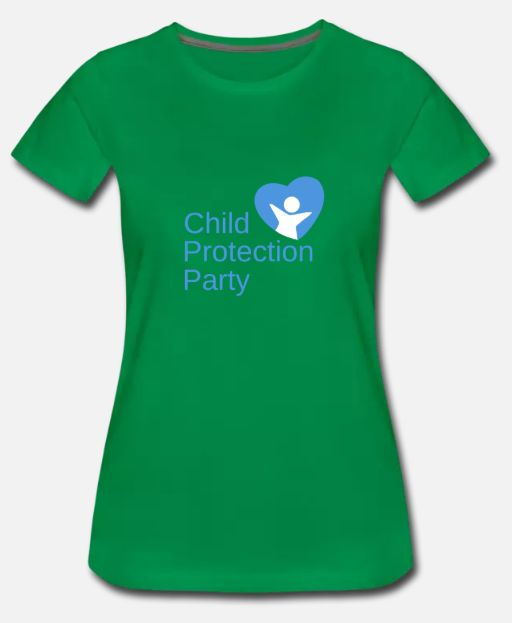 Child Protection Party Women's T-Shirt (Fitted)