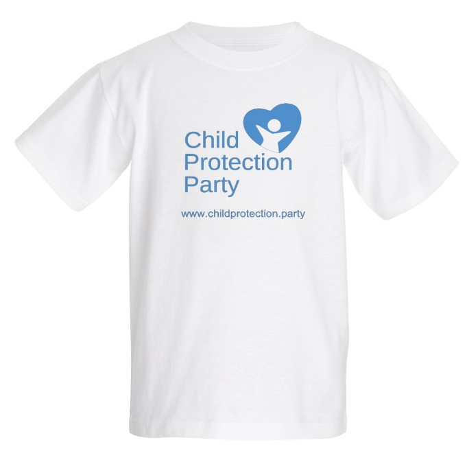 Child Protection Party Kid's T-Shirt