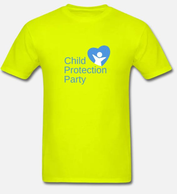 Child Protection Party Men's T-Shirt