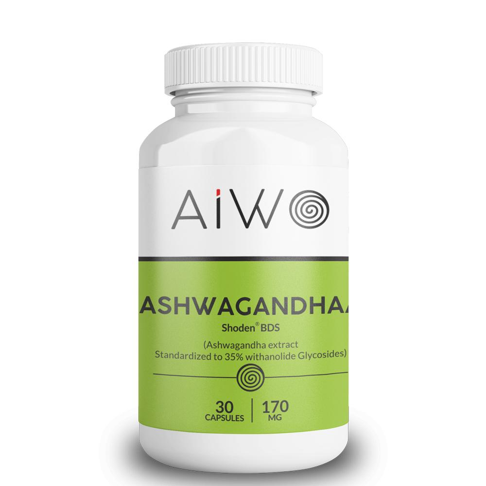 Ashwagandha |160 mg | Vegetarian-friendly Capsules