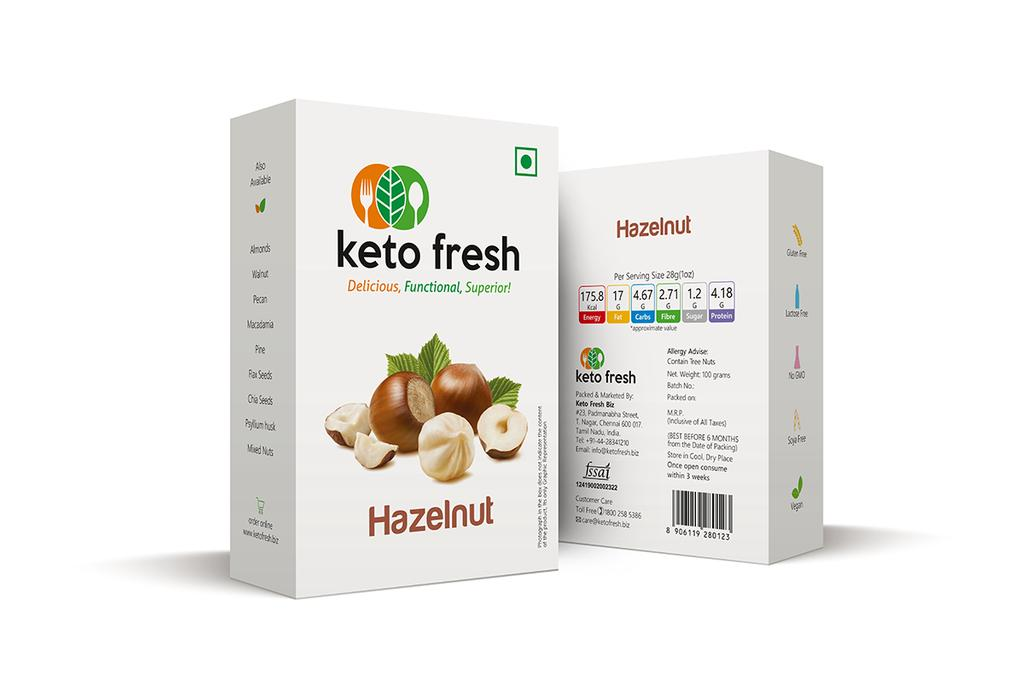 KetoFresh Hazelnut Box