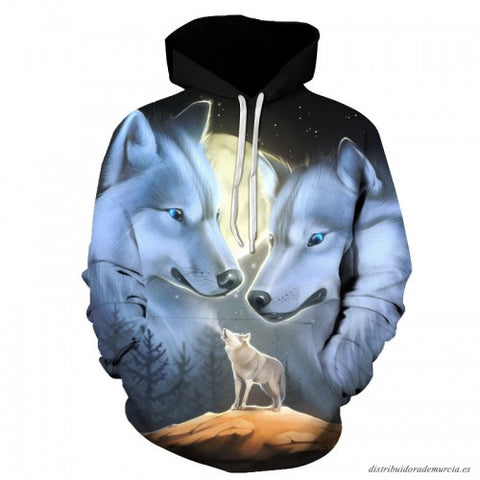 Pull Loup<br> Lune - Loup-Faction