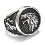 Bague Loup<br> Souverain Game of Thrones - Loup-Faction