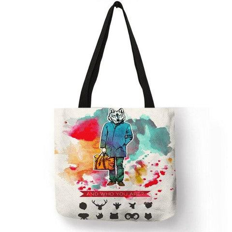 Sac Loup<br> L'Homme Loup - Loup-Faction