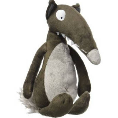 Peluche Loup<br> Auzou - Loup-Faction