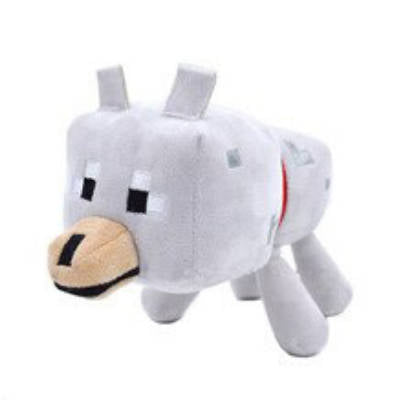 Peluche Loup<br>Minecraft - Loup-Faction