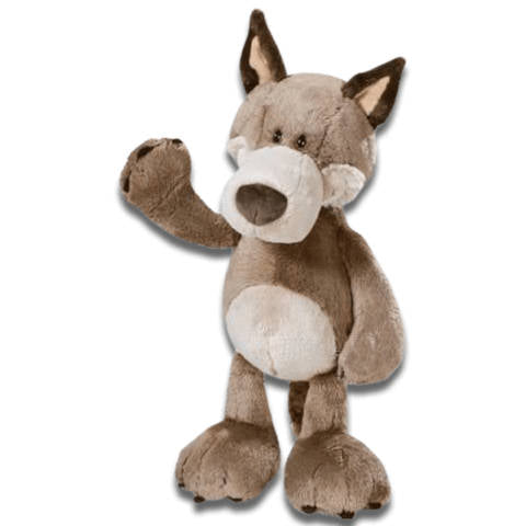 Peluche Loup<br> Monsieur Woody - Loup-Faction