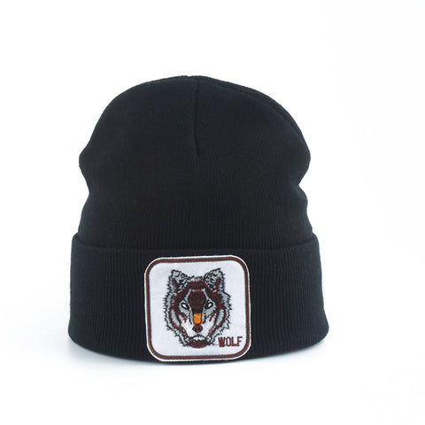 Bonnet Loup<br> Noir - Loup-Faction