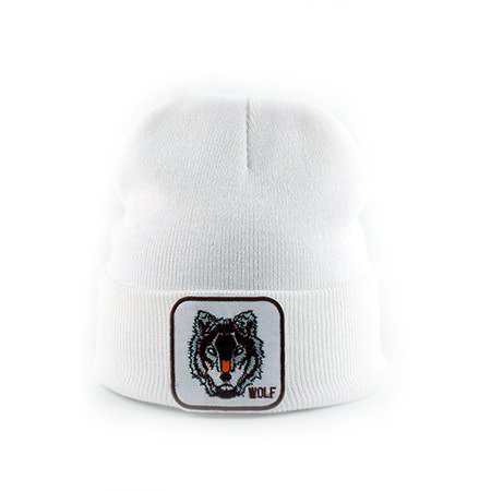 Bonnet Loup<br> Blanc - Loup-Faction