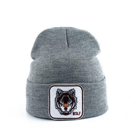 Bonnet Loup<br> Gris - Loup-Faction