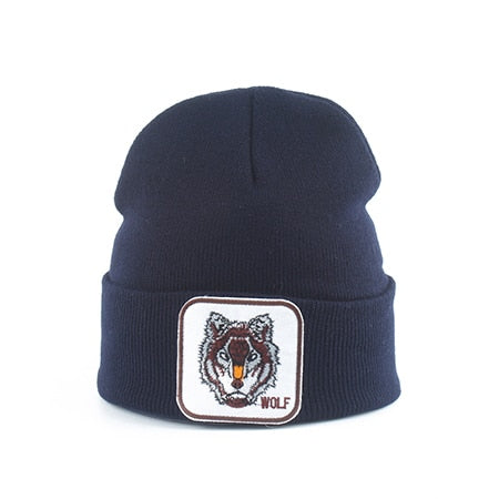 Bonnet Loup<br> Bleu Marine - Loup-Faction