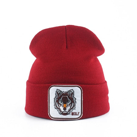 Bonnet Loup<br> Rouge - Loup-Faction