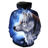 Pull Loup<br> Gris - Loup-Faction