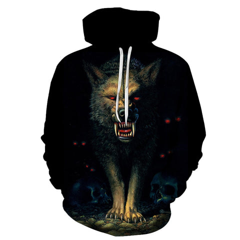 Pull Loup<br> Garou - Loup-Faction