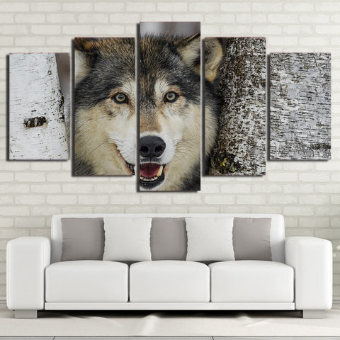 Tableau Loup<br> Happiness - Loup-Faction