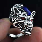 Bague Loup<br> Mal Obscur - Loup-Faction
