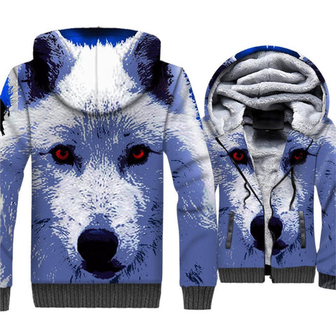 Veste Loup <br> Glacial - Loup-Faction
