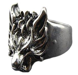 Bague Loup<br> Rock - Loup-Faction