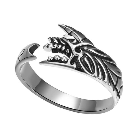 Bague loup<br> Monster Hunter - Loup-Faction
