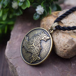 Pendentif Loup<br> Dragon Celtic - Loup-Faction
