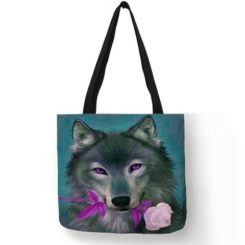 Sac Loup<br> Rose - Loup-Faction
