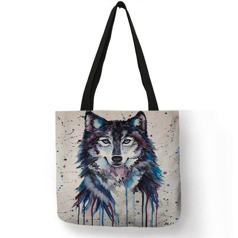 Sac Loup<br> Gris - Loup-Faction