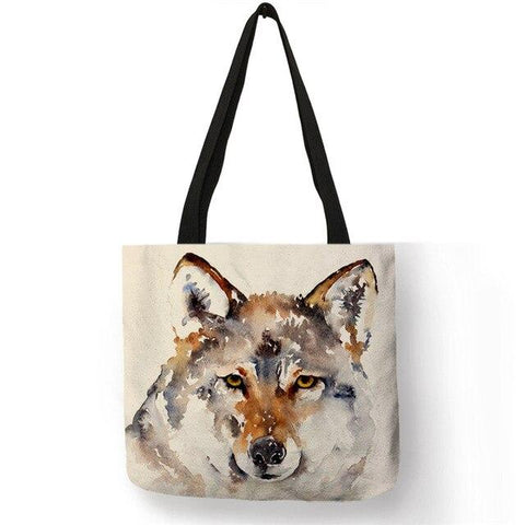 Sac Loup<br> Marron - Loup-Faction